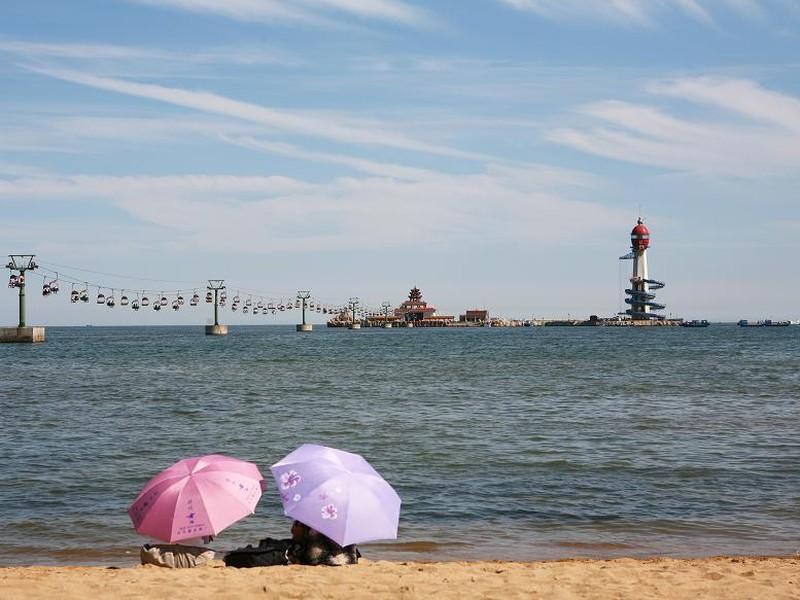 南戴河仙螺岛风景区