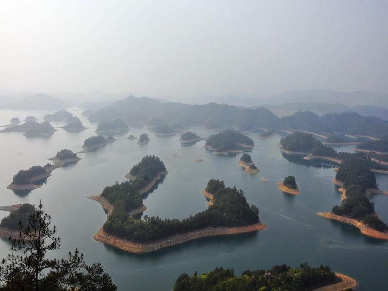 【千岛湖中心湖区图片】千岛湖中心湖区风景图片