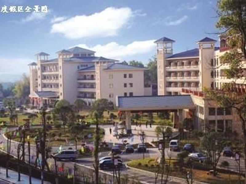 紫龙湾温泉度假区位于湖南省宁乡