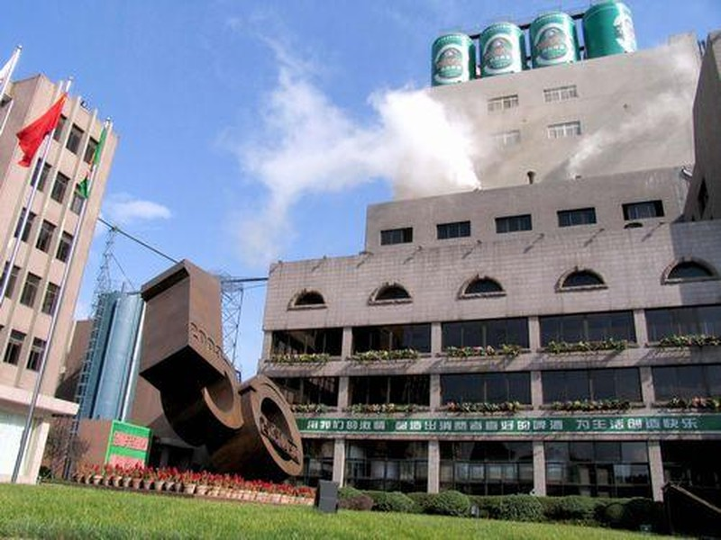 【青岛啤酒二厂图片】青岛啤酒二厂风景图片