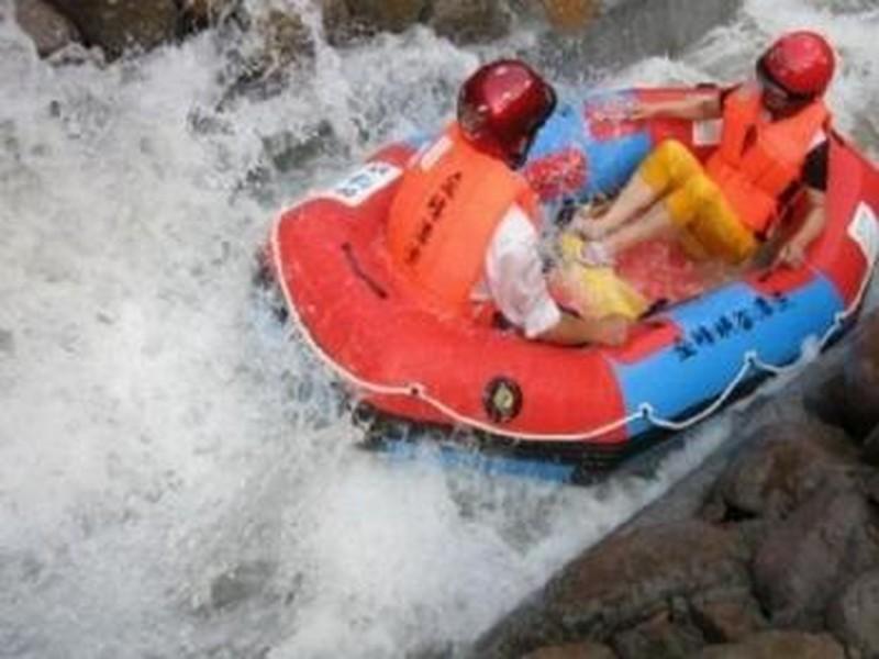 【千岛湖金峰峡谷漂流图片】千岛湖金峰峡谷漂流风景