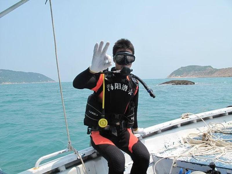 外伶仃岛体验潜水图片_外伶仃岛体验潜水摄影_景区