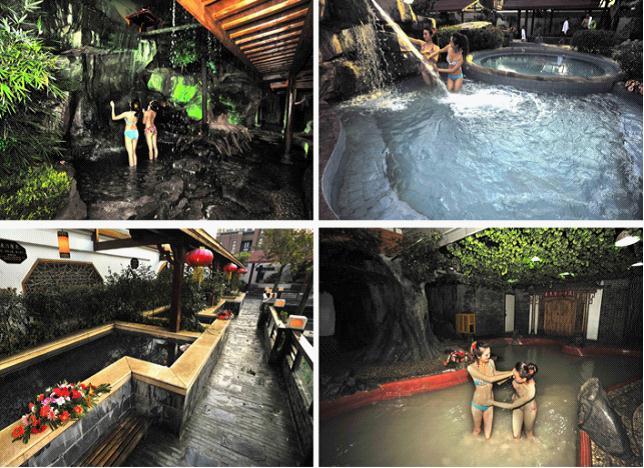 据推测,大约在一亿多年前的晚侏罗纪末期,汤山温泉就已经形成了; 汤山