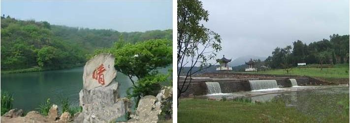 珍珠泉风景区为中心
