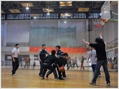 员工业余时间篮球比赛