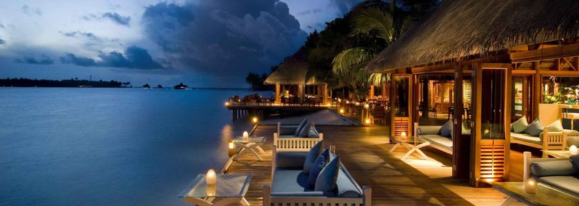 马尔代夫希尔顿港丽岛6天4晚自由行 2沙2水