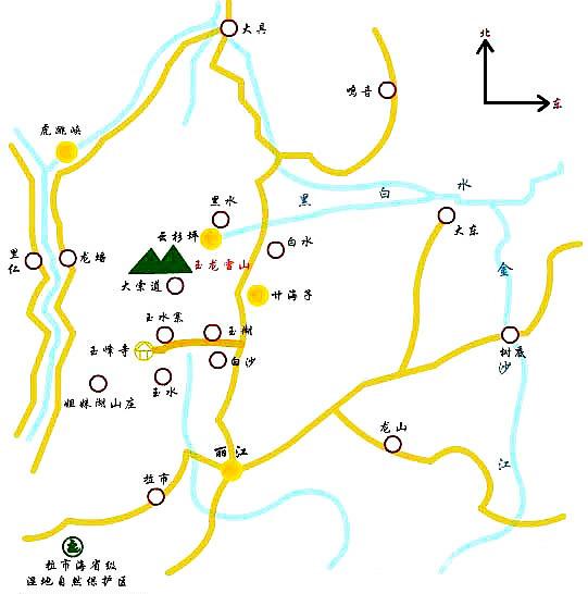 丽江旅游景点